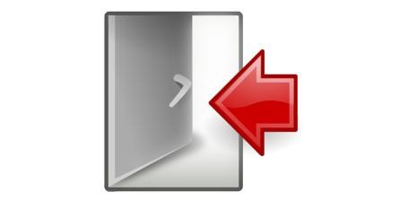 Anleitung: Abmelden (ausloggen)