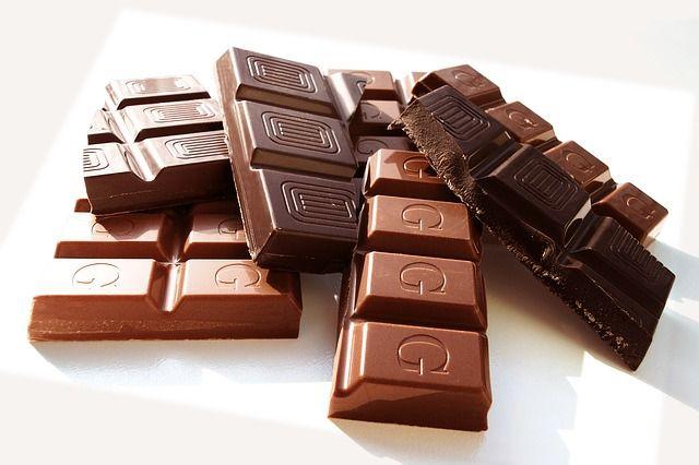Magermilchschokolade