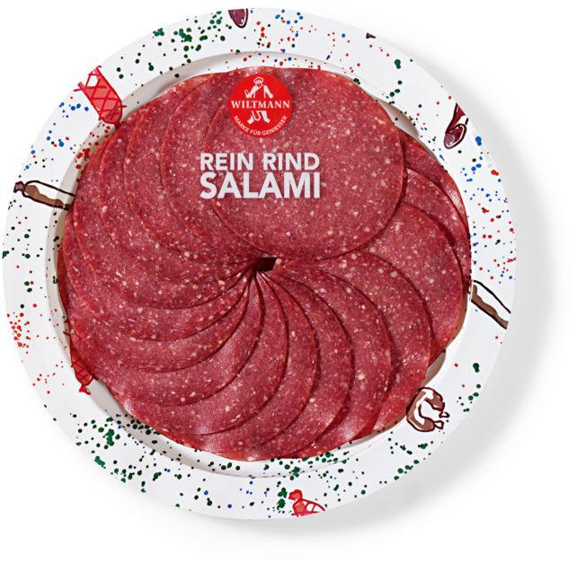 Bio Rein Rind Salami