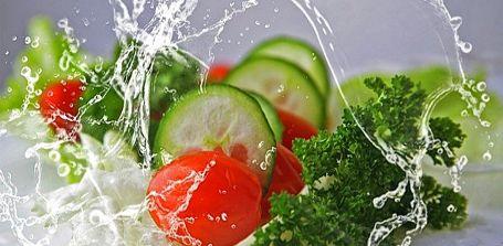 Zunehmen mit  Salat