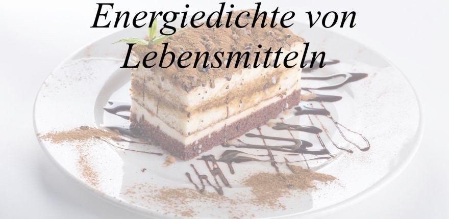 Lebensmittel mit viel Gewicht und wenig Kalorien