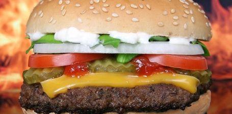 Neuer Hamburger Kalorien Rechner
