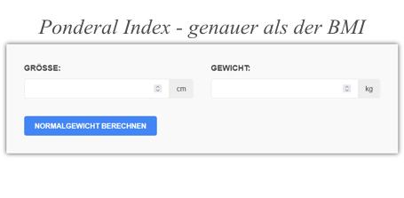 Der Ponderal Index - genauer als der BMI
