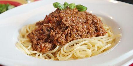 Spaghetti Bolognese Kalorien (sparen)