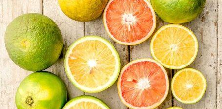 Kalorien von Zitrusfrüchten